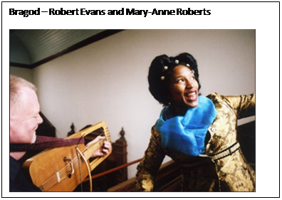 Text Box: Bragod – Robert Evans and Mary-Anne Roberts